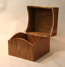 Photo: Doug's Maple box, open