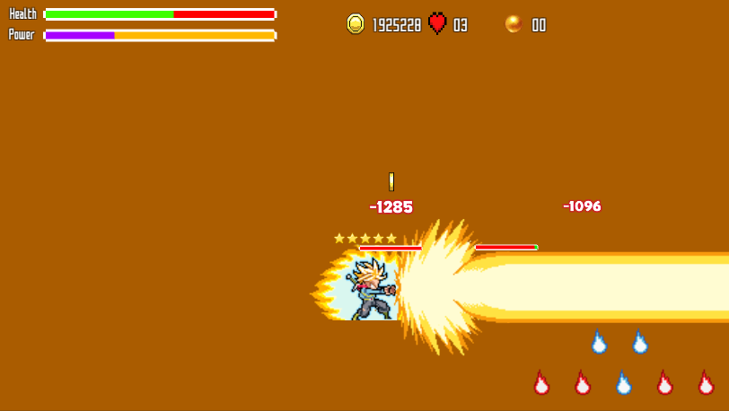Battle Of Super Saiyan- screenshot