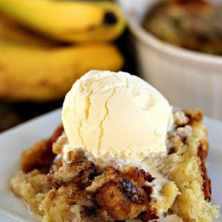 Gooey Banana Cake.
