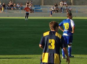 Photo: Subi marcando a Luis Garcia del Espanyol