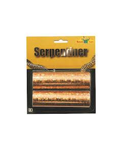 Serpentiner, guld 2-pack