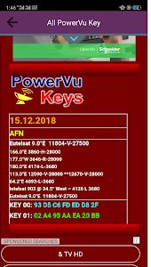 New Powervu Keys 2019