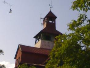 Photo: Vlevo nahoře rozhlasový vysílač  Hitrádio FM Most (200W ERP-V) na kmitočtu 96.8MHz.