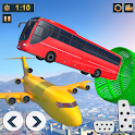 Impossible Bus Driving - Mega Ramp Stunt Racing icon