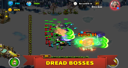 StickMan Defense War - Empire Hero & Tower Defense apktram screenshots 6