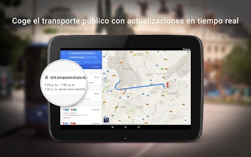 Maps - Navegación y transporte público Screenshot