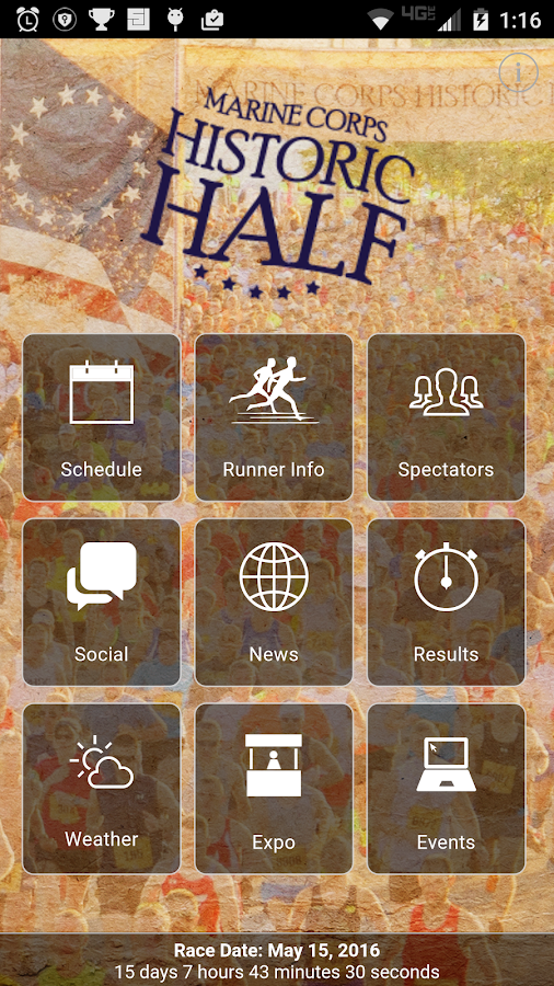 Marine Corps Historic Half - Android Apps on Google Play