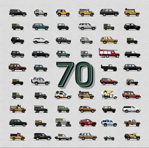 Land Rover is celebrating its 70th anniversary this week. Picture: Newspress UK