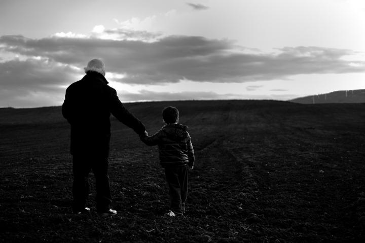 Il vecchio ed il bambino di leonardo valeriano