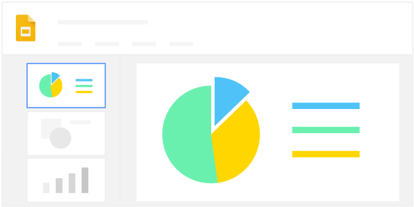 Adding Charts to Slides and Docs