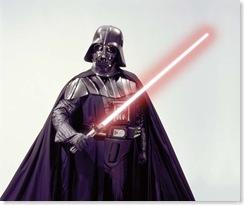 4. vader lightsaber