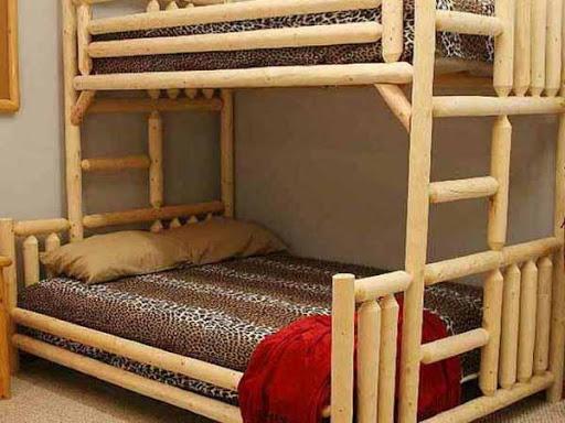 二段ベッドのデザインのアイデア