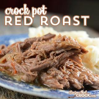 Crock Pot Red Gravy Pot Roast.