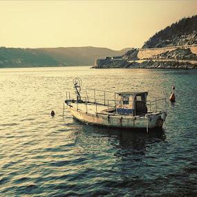The lonely one by Goran Grudić - Instagram & Mobile iPhone ( zaljev, bakarac, kvarner,  )