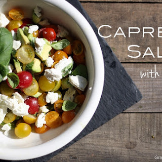 Chopped Caprese Salad with a Twist