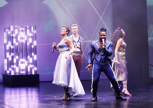 One of the three original theatrical productions on Celebrity Edge.