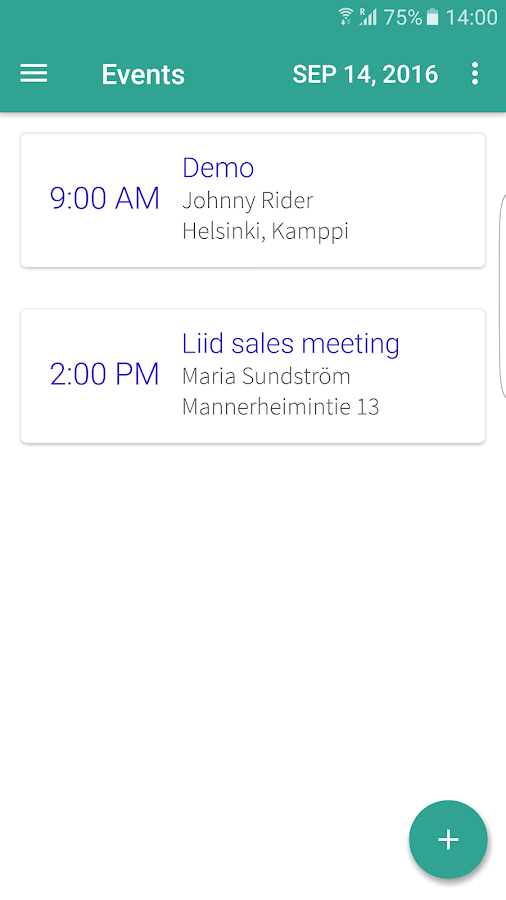 LIID for CRM- screenshot