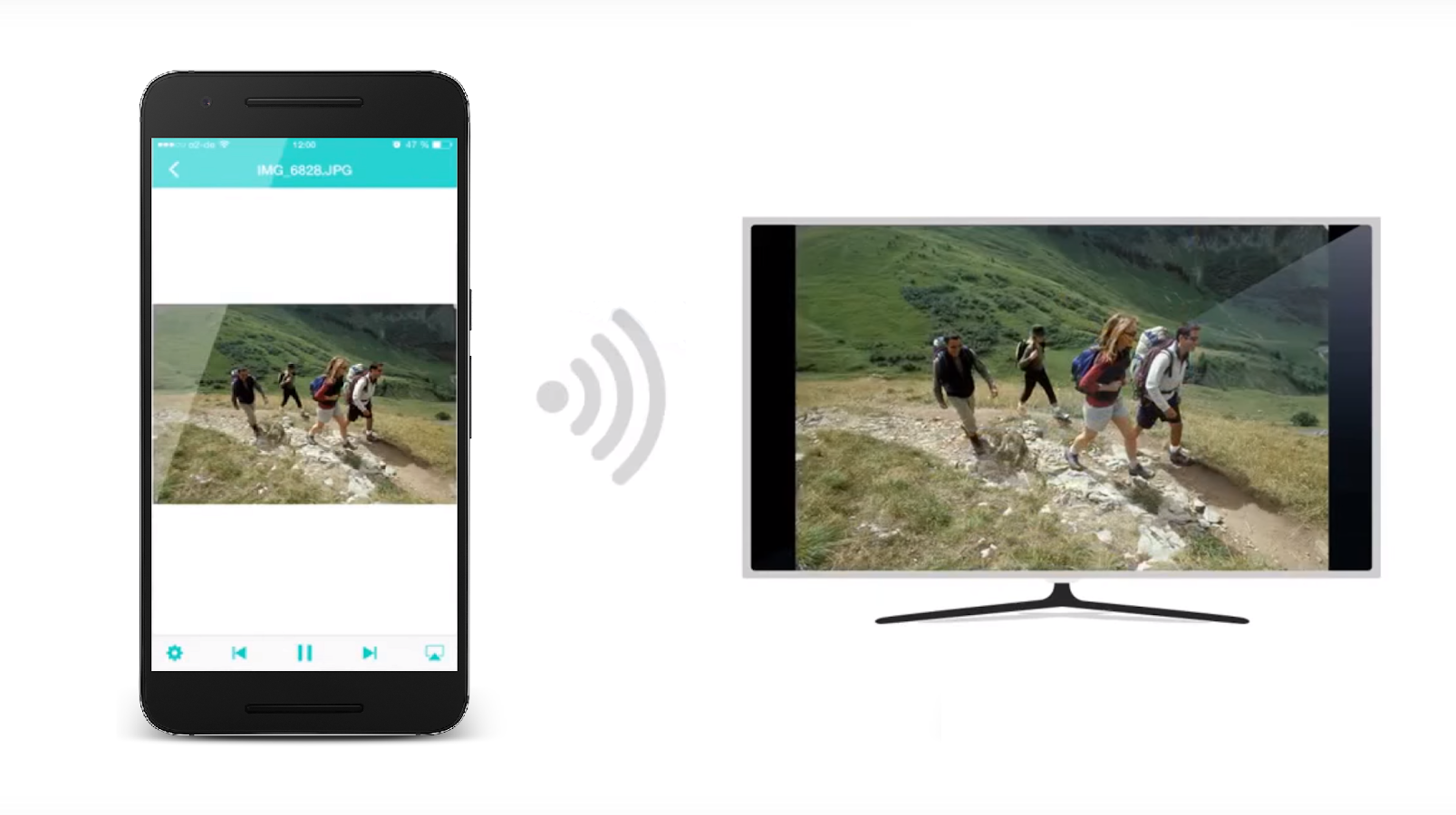 nero streaming player connect phone and smart tv android apps