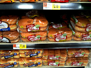 Photo: Hamburger buns are on my list and the Sara Lee ones I usually buy are a steal at $1.98 they are almost double that in Vons