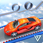 Space Car Real Stunt Drive Simulator