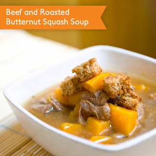Beer and Roasted Butternut Squash Soup