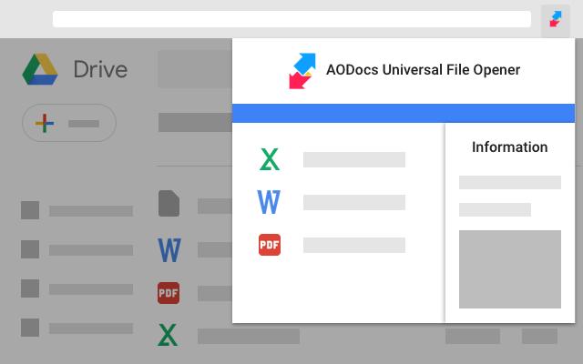 AODocs - Universal File Opener