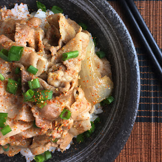 Japanese Butadon Pork Bowls Recipe