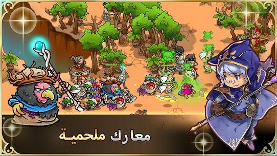 أبطال الدفاع الجنوني Crazy Defense Heroes 4