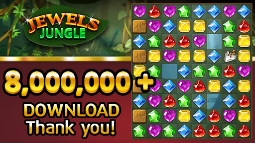 Jewels Jungle : Match 3 Puzzle 1.7.7 screenshots 1