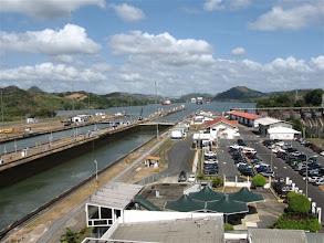 Photo: Panamský průplav