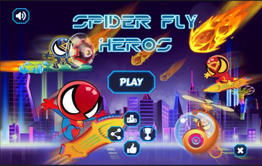 蜘蛛飛群英傳:踐踏,駕駛或搞笑直升機裝有飛!
