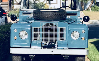Land Rover IIA (2A) Rent California
