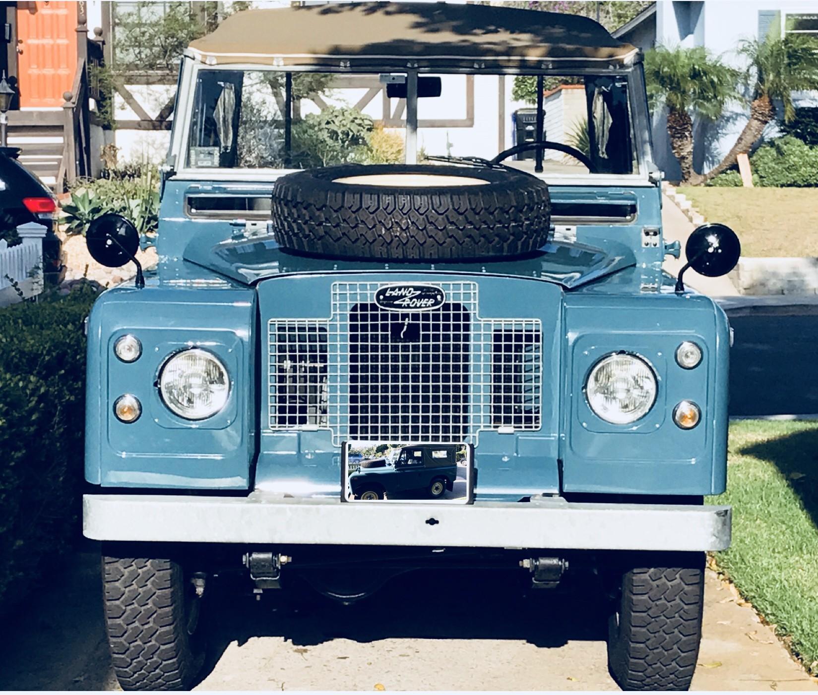 Land Rover IIA (2A) Hire San Diego