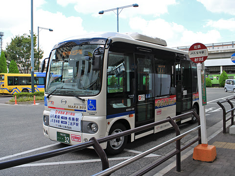 大阪バス 久宝寺出戸線 ・・32 久宝寺駅にて その3