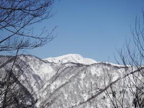 大笠山アップ