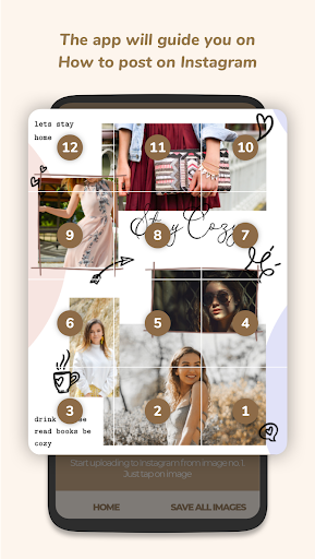Puzzle Collage Template for Instagram - PuzzleStar 3.1.4 screenshots 7