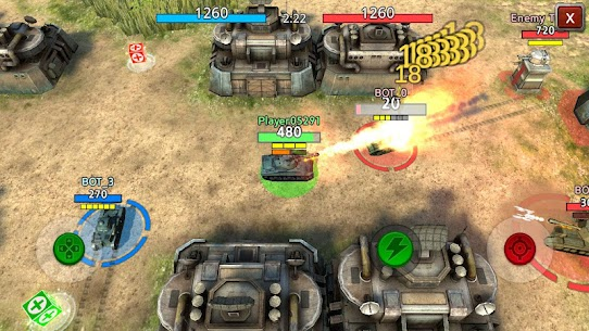 Battle Tank 2 Mod Apk (Unlimited Money) 2