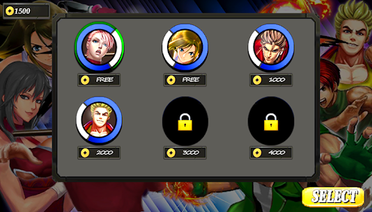 The King Fighters of Kung Fu MOD (Unlimited Coins) 4