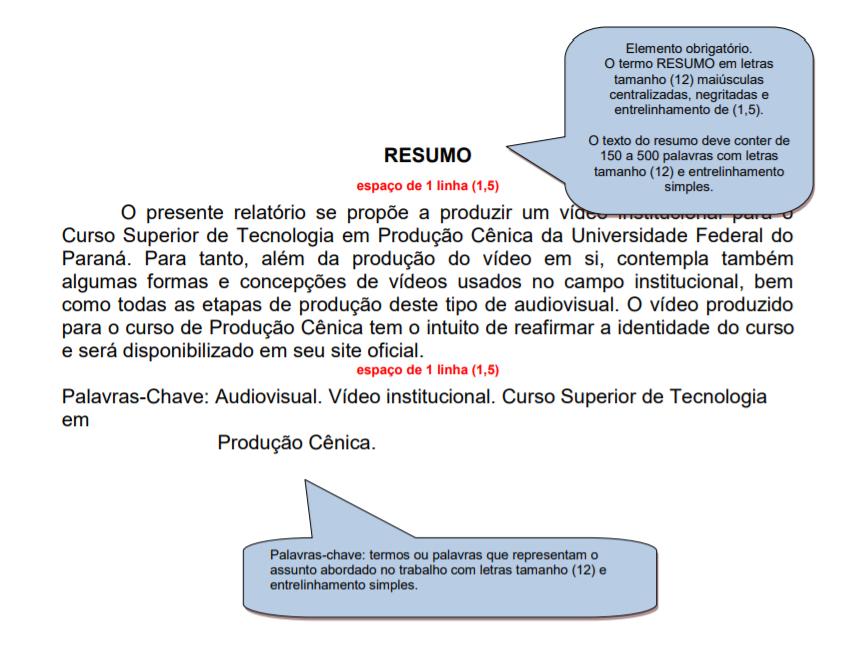 exemplo de resumo de TCC