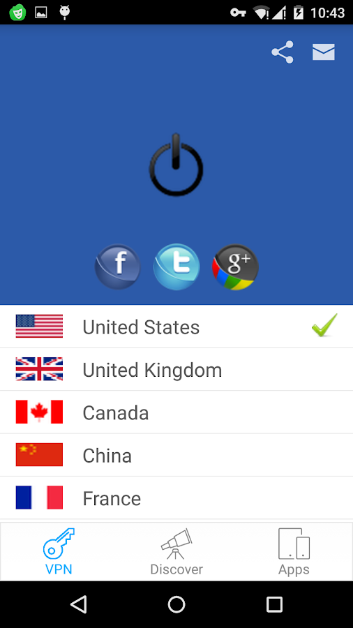 Tigervpns Free VPN and Proxy- screenshot