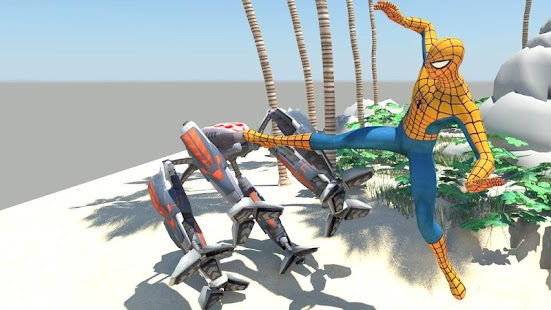 SPIDER HERO MUTANT FICTIONAL WAR - náhled