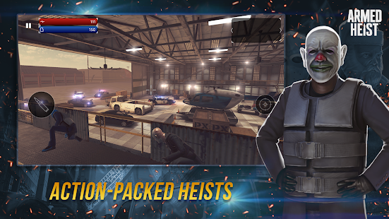 Armed Heist: TPS-Shooter Mafia vs Polizei Screenshot