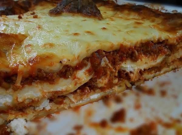 Four Cheese Lasagna Recipe