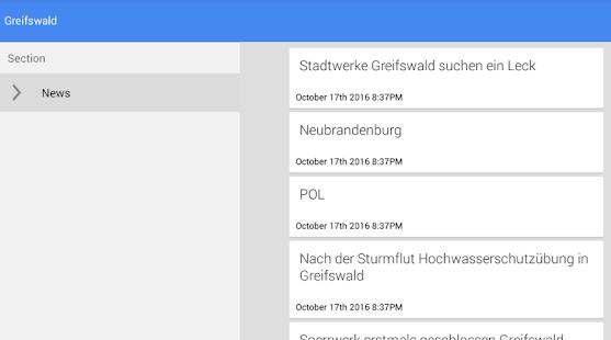 Nachrichten aus Greifswald - náhled