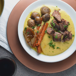 Sunday Supper Pot Roast + Savory Grits