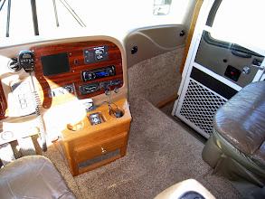 Photo: Front cockpit area on passenger side.