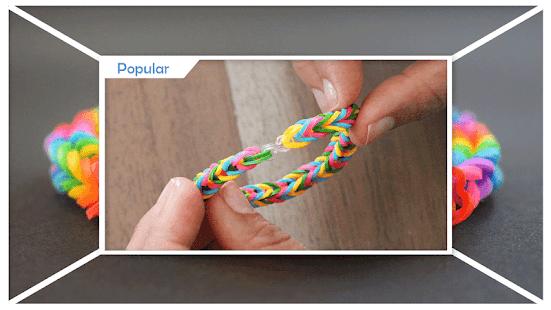 Creative DIY Loom Bracelet - náhled