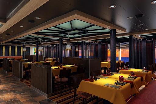 carnival-horizon-jiji-asian-kitchen.jpg - Head to JiJi Asian Kitchen on Carnival Horizon for bold Asian cuisine.