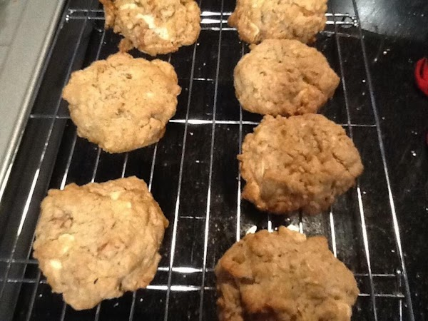 BAKE FOR 12-15 MINUTES OR UNTIL COOKIE IS SLIGHTLY BROWND...REMOVE IMMEDIATLY WITH SPATULA TO...