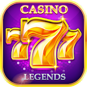 Casino Legends -Las Vegas Slots,Slot Machine Games